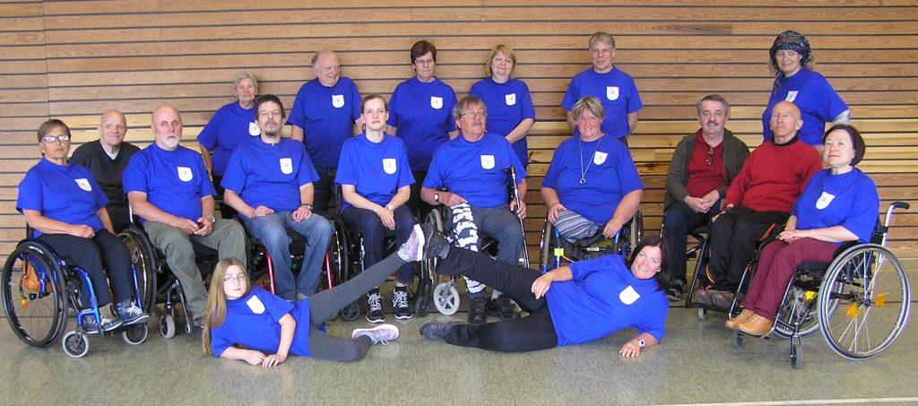 Das Bild zeigt eine Gruppe des Vereins